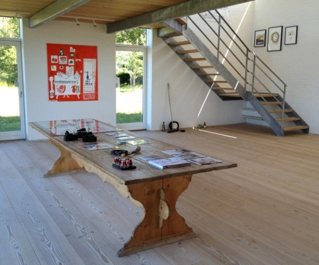 Udstillingsview fra Det Milde Vesten, m.galleri. Foto: Rose Eken og Søren Behncke
