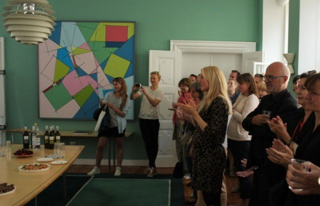 Applaus til prismodtagerne. (Foto: Rine Flyckt)