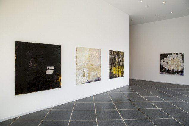 Udstillingsview fra The Darkland Sketches, Galleri Susanne Ottesen. Foto: Hans Ole Madsen
