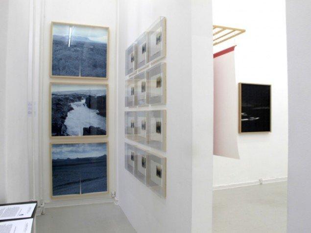 Udstillingsview fra Touching Light, Peter Lav Gallery. Courtesy Peter Lav Gallery