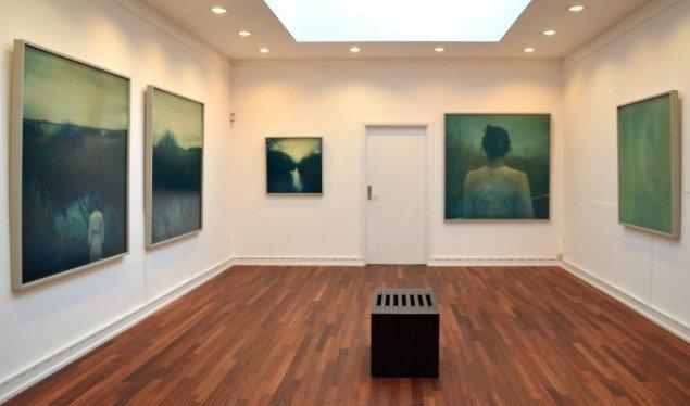 Udstillingsview Astrid Kruse Jensen: Within the Landscape. Foto: Johannes Larsen Museet
