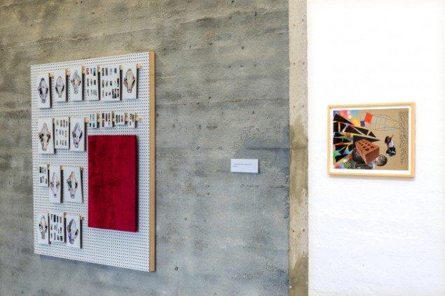Udstillingsview fra Erik Øckenholt - Akkumulering, Kunsthal Nord. Foto: Niels Fabæk