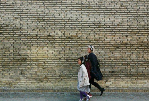 Mette Kit Jensen: Flâneuse de l'Europe, audiowalk. Museet for Samtidskunst, Roskilde 2014. (Foto: Pernille Koldbech Fich)