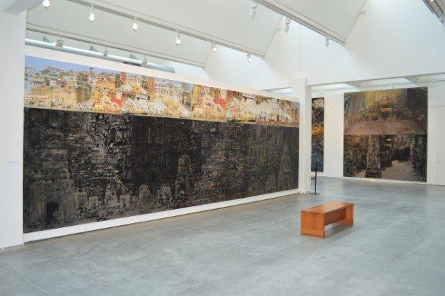 Udstillingsview fra Merete Barker udstilling Different Worlds - Different Fields, VejleMuseerne - Kunstmuseet. Foto: VejleMuseerne - Kunstmuseet