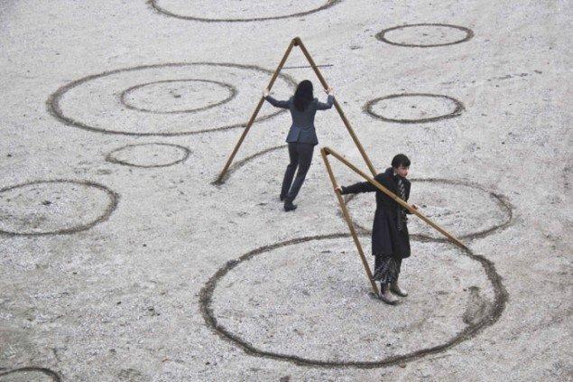 Molly Haslund: Circles, 2013. Museet for Samtidskunst. (Foto: Matilde Haaning)