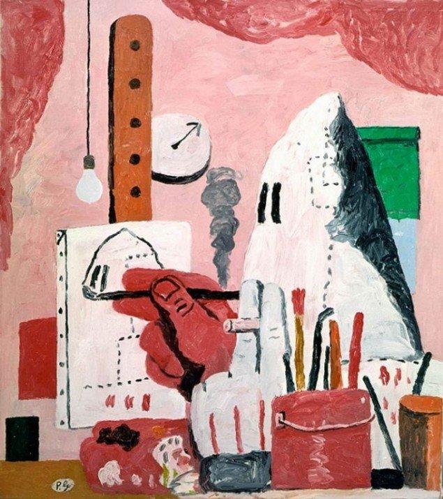 Philip Guston, Atelier, 1969, © The Estate of Philip Guston