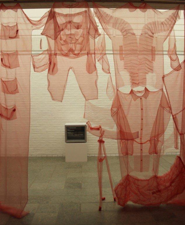 Jette Hye Jin Mortensen: Generation. 2014. Udstillingsview. Foto: Holstebro Kunstmuseum