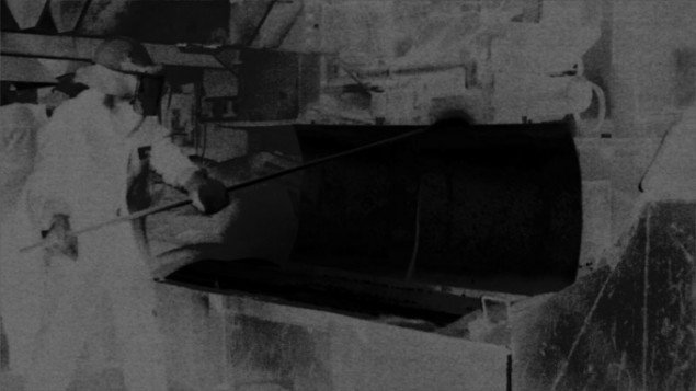 Darren Almond: Less Than Zero, 2013-2014. 2 channel video installation with audio. (still fra værket)