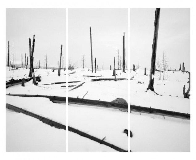 Darren Almond: Night + Fog (Monchegorsk) (2), 2007. (Pressefoto)