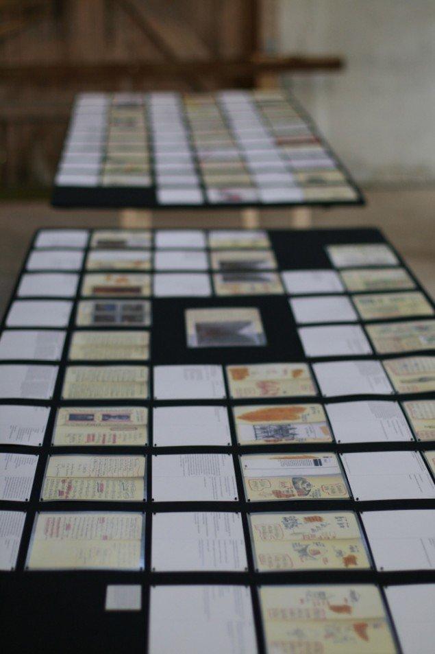 Ou Nings Bishan-notesbog spredt ud. Foto: Lasse Juhl Nielsen