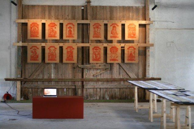 Ou Nings Bishan-projekt er rigt repræsenteret. Foto: Lasse Juhl Nielsen