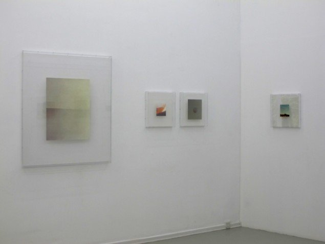 Adam Jeppesen: SCATTER - New Color Works. Installationsview. Courtesy Peter Lav Gallery.
