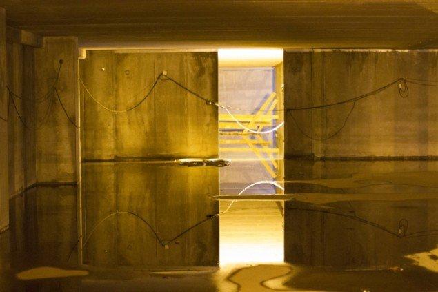 Jens Settergren og Sebastian Edin: Teknopotentiale. Installation. På udstillingen Port 14 v. Havnevæsenets venner. Sted: spørg v. Pier 1 på Aarhus Havn eller udstillingsstedet Spanien 19C, Aarhus. Pressefoto
