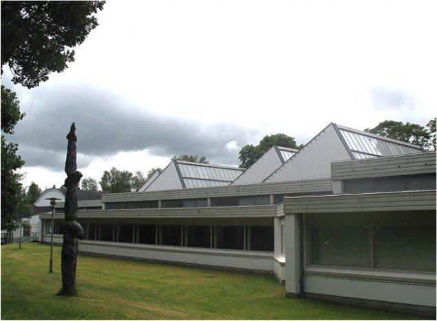 Silkeborg Kunstmuseum. Foto: Lars Svanholm.