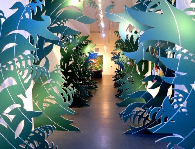 Eske Kath: Blackboard Jungle. Charles Bank Gallery, New York, 2012. Foto: Dan Spizzirri