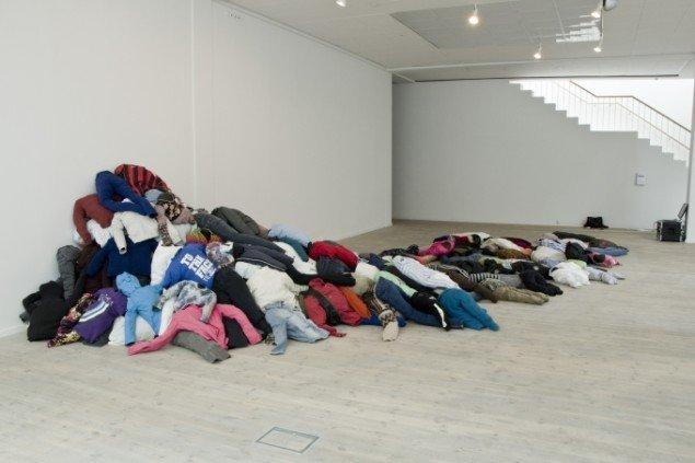 Mass movement. Fællesværk af kunstnere fra Prokk. Foto: Jacob Juhl