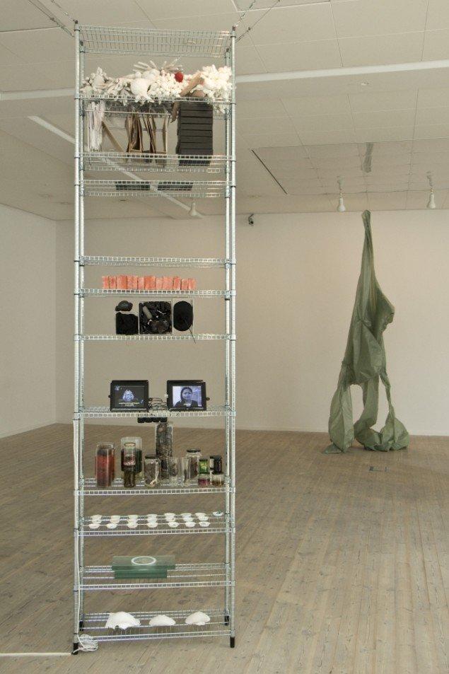 Melpomene. Fællesværk af kunstnere fra Prokk. Foto: Jacob Juhl
