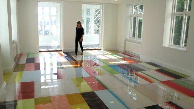 Ruth Campau: Boogie Woogie Palace, 2014, 7,94x5,18m. Foto: Ruth Campau