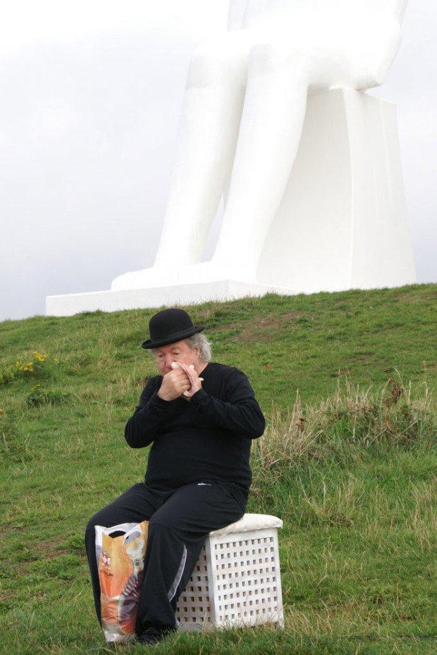 Charlie Morrow som en del af Spoken Chairs. Foto: Anja Møller Pedersen