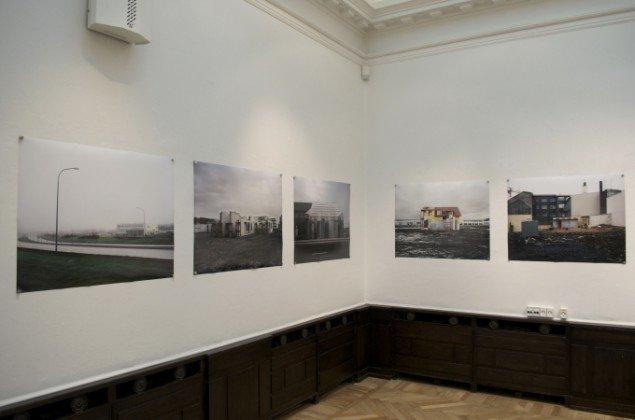Udstillingsview af værker af Ingvar Högni Ragnarsson. På Indre og ydre landskaber, Fotografisk Center i Museumbygningen. Foto: Kirstine Schiess Højmose