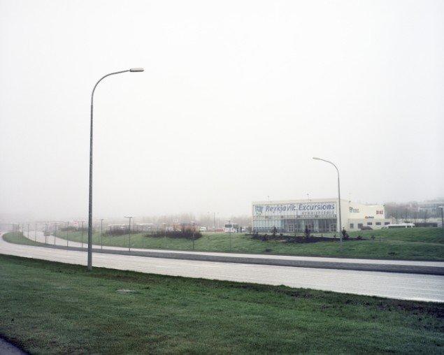 Ingvar Högni Ragnarsson: Reykjavik Excursions. Digitalt inkjetprint, 70 x 90 cm. På Indre og ydre landskaber, Fotografisk Center i Museumbygningen. Foto: Ingvar Högni Ragnarsson