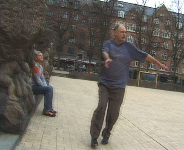 Still: Ingen Mand er en ø, 2002, 4 min, DVCAM, Courtesy Perry Rubenstein Gallery, New York, Copyright Jesper Just 2000 - 2006