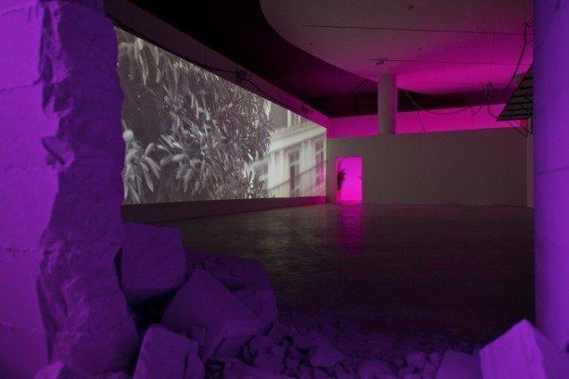 Installationsbillede, Intercourses, 2013, ARoS (2014). Foto: Ole Hein Pedersen