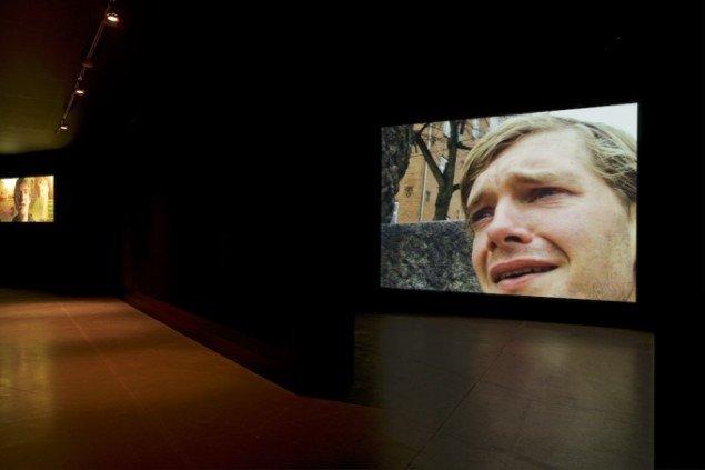 Installationsbillede, No Man Is An Island II, 2004 og Ingen Mand er en ø, 2002 , ARoS (2014). Foto: Ole Hein Pedersen