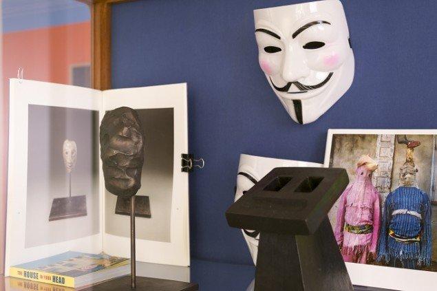 Udstillingsview fra Ubuntu, Galerie Mikael Andersen. Foto: Jan Søndergaard