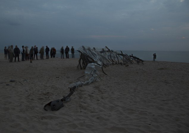 Michael McGilles installation i Fjaltring. Foto: Michael McGillis
