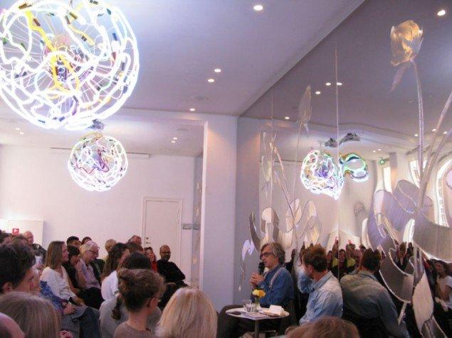 Fra talk med Wim Wenders på GL STRAND. Foto: Michelle From Hoxer.