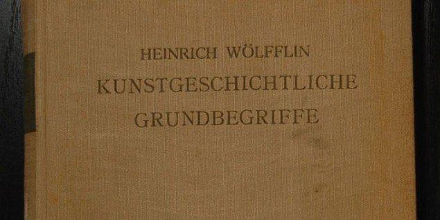 Heinrich Wöllflins kunsthistoriske klassiker Kunstgeschichtliche Grundbegriffe: Das Problem der Stilentwickelung in der neueren Kunst .