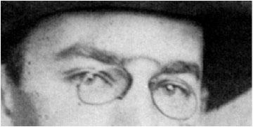 Den tyske kunsthistoriker Heinrich Wöllfins øjne.