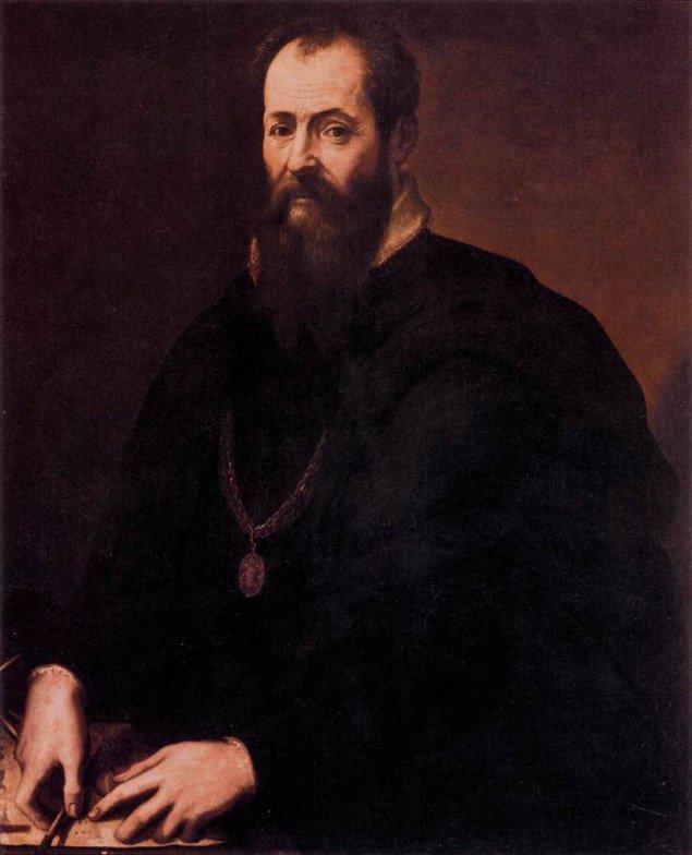 Giorgio Vasari: Selvportræt. Galleria degli Uffizi, Firenze.