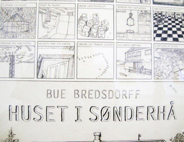 Bue Bredsdorff: Huset i Sønderho (detalje). Foto: Kristian Handberg.