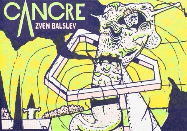 Zven Balslev: Cancre, Serigrafiske trykt bog. 200 eks. Le Dernier Cri 2013. Courtesy Marie Kirkegaard Gallery