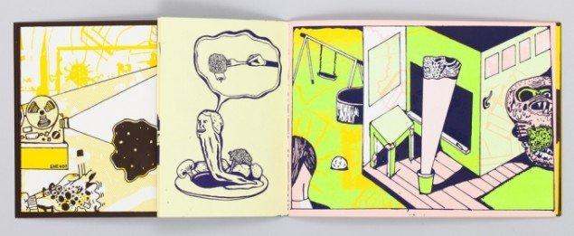 Fra bogen Cancre. Courtesy Marie Kirkegaard Gallery