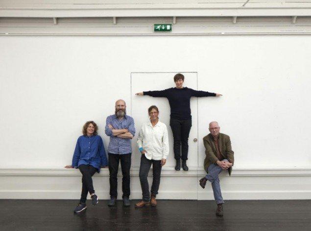 Juryen ved årets udstilling. Foto: Stamers Kontor.