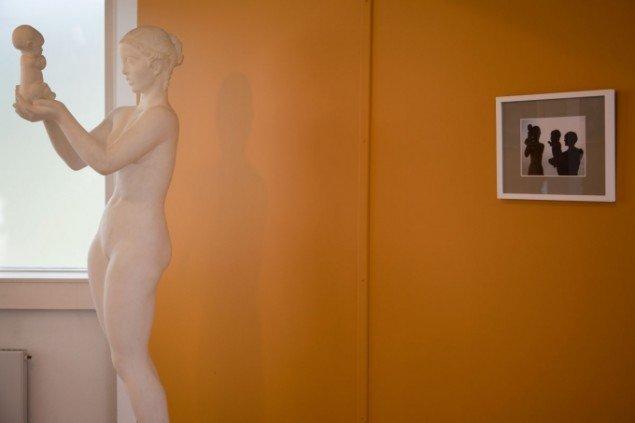 Birgitte Ejdrup Kristensen: Venus med æblet. Foto: Else Ploug Isaksen