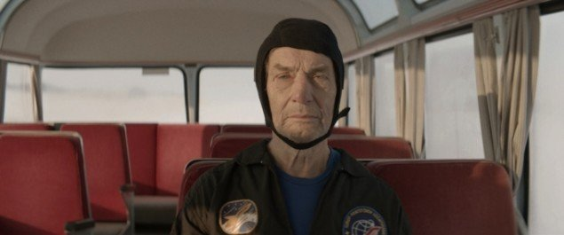 Søren Thilo Funder, 2013. The Cosmonaut (I don't see any God up here). HD Video, 5.30 min. Still fra værket.