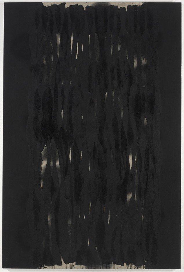 Ian Mckeever Twelve-Standing IX 2010-2011, Olie og acryl. 270 x 180cm. Foto: Michael Bogumil
