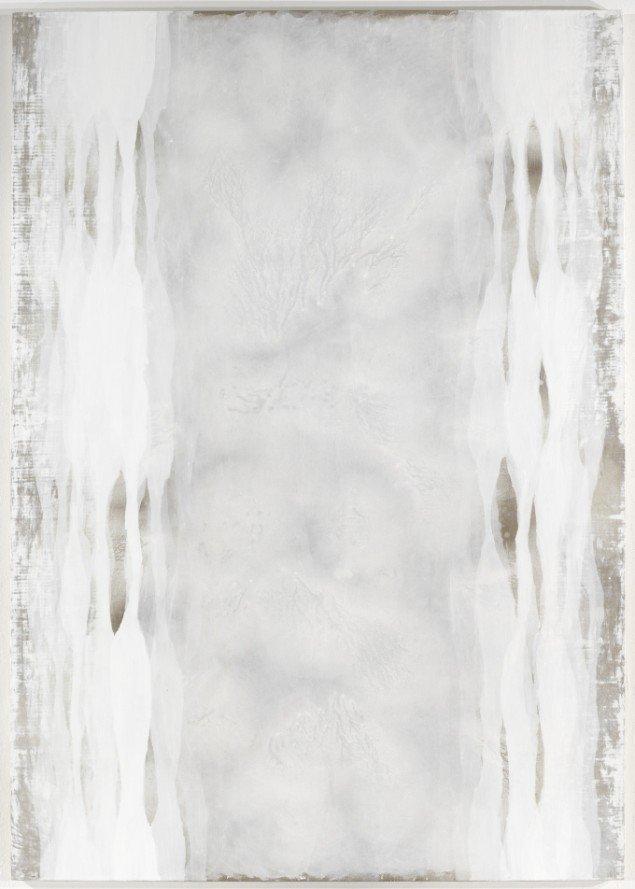 Ian Mckeever Twelve-Standing II 2010-2011, Olie og acryl. 270 x 180cm. Foto: Michael Bogumil