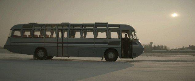 "Søren Thilo Funder: The Cosmonaut (I don't see any God up here), 2013, HD Video, 5'30"", still fra værket."