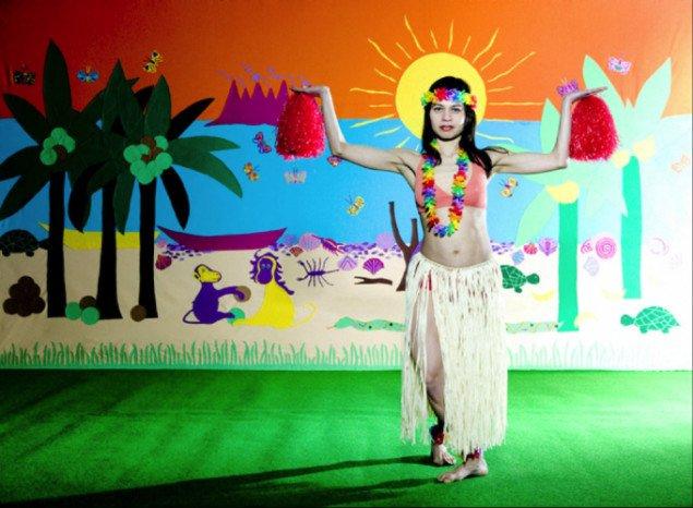 Lilibeth Cuenca Rasmussen, Absolute Exotic, 2005. Video og performance. Foto: Ulrik Jantzen.