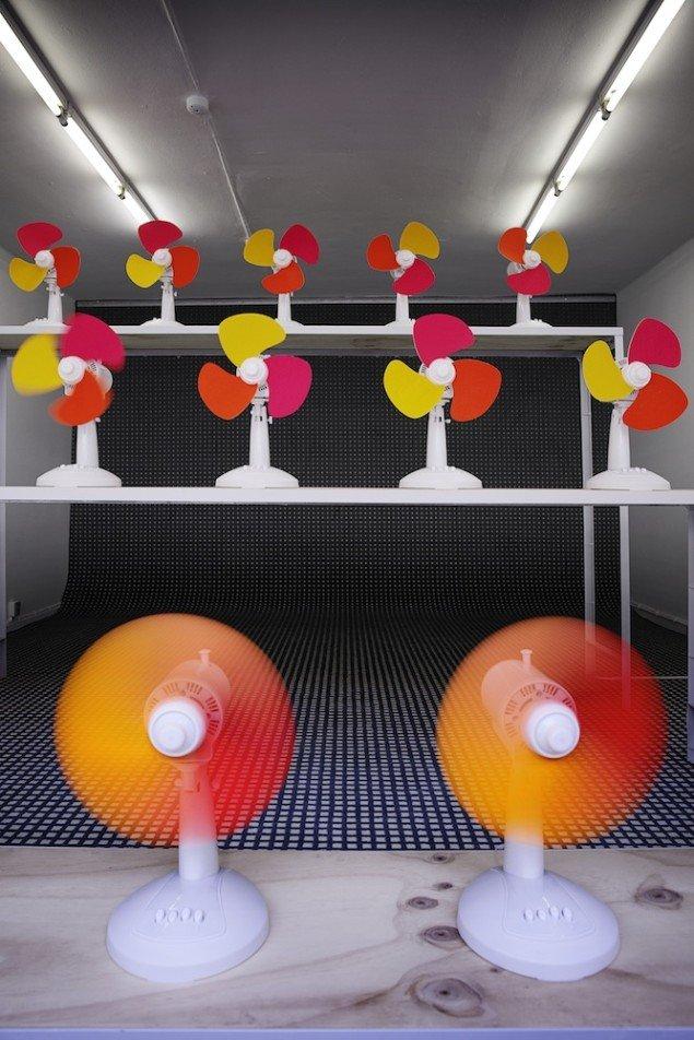 Designduoen RAWcolors The Fansa. Foto: LYNfabrikken.