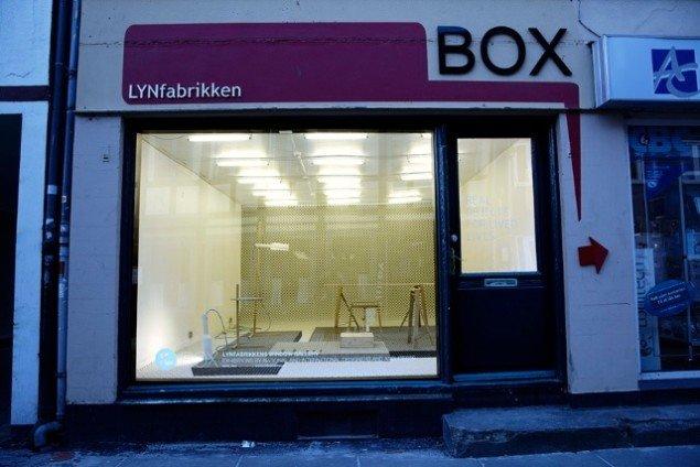Tomás Alonsos BOX-udstilling Real Objects for Lived Life fra vinteren 2010. Foto: LYNfabrikken