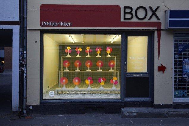 Designduoen RAWcolors The Fans. Foto: LYNfabrikken.