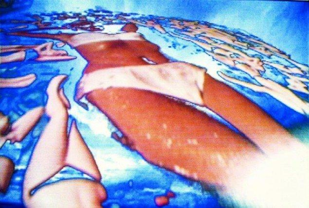 Pipilotti Rist: Sip my Ocean, 1996. Still fra værket