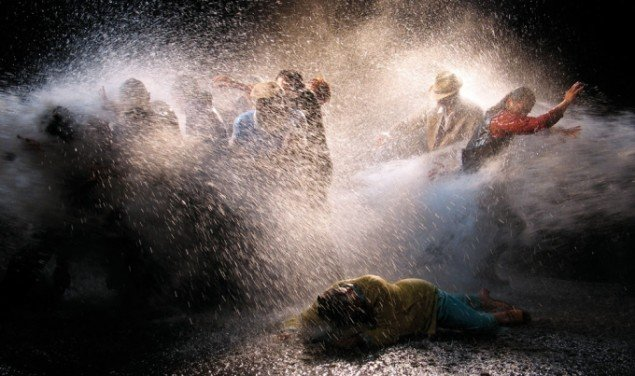 Bill Viola: The Raft. Videostill. Foto: Kira Perov