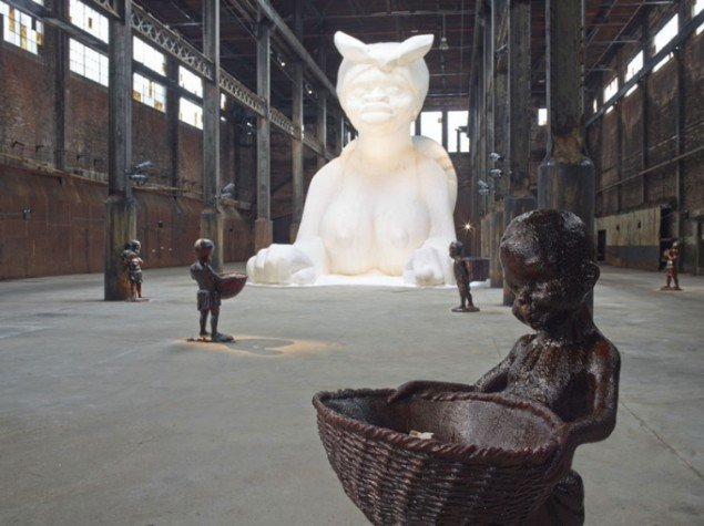 Kara Walker: A Subtlety, 2014. Foto: Jason Wyche, Courtesy Creative Time.